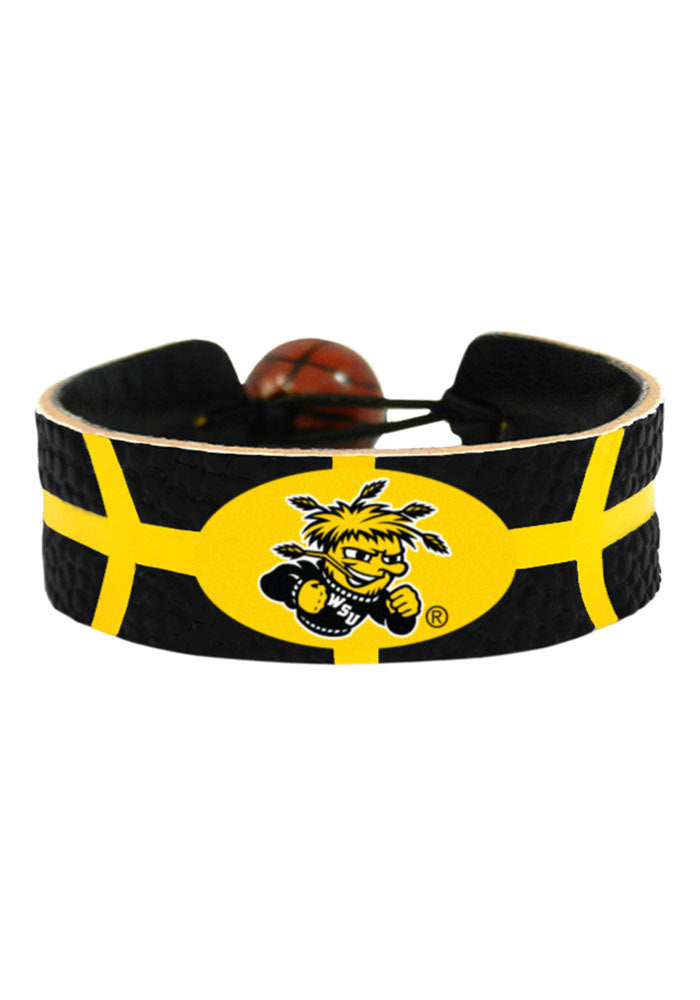 Wichita State Shockers Bracelet Team Color Basketball