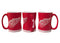 Detroit Red Wings Coffee Mug - 14oz Sculpted Relief