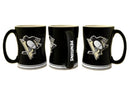 Pittsburgh Penguins Coffee Mug - 14oz Sculpted Relief