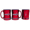 Washington Capitals Coffee Mug 14oz Sculpted Relief Special Order