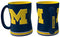Michigan Wolverines Coffee Mug - 14oz Sculpted Relief