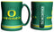 Oregon Ducks Coffee Mug - 14oz Sculpted Relief