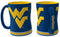 West Virginia Mountaineers Coffee Mug - 14oz Sculpted Relief