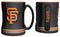San Francisco Giants Coffee Mug - 14oz Sculpted Relief - Black