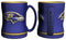 Baltimore Ravens Coffee Mug - 14oz Sculpted Relief