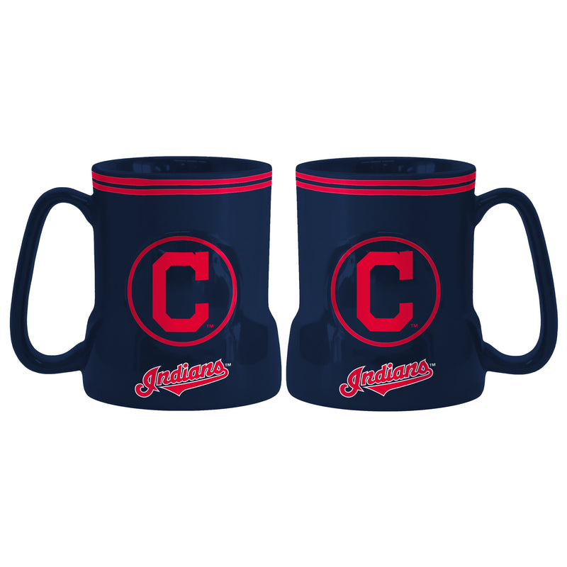 Cleveland Indians Coffee Mug - 18oz Game Time