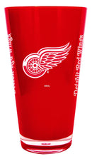 Detroit Red Wings 20 oz Insulated Plastic Pint Glass