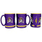 East Carolina Pirates Coffee Mug 14oz Sculpted Relief