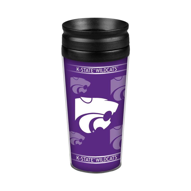 Kansas State Wildcats 14oz. Full Wrap Travel Mug