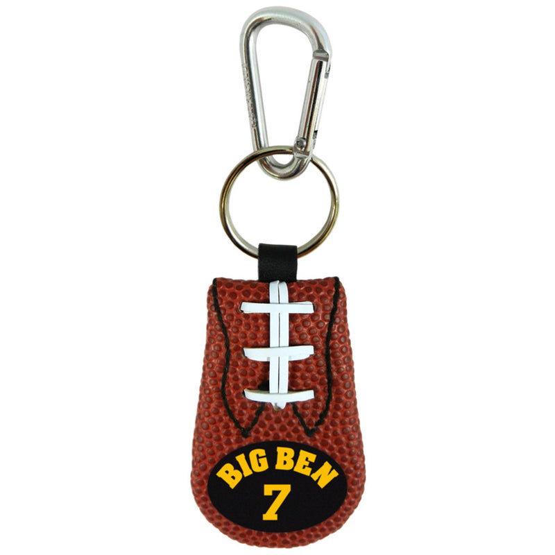 Pittsburgh Steelers Keychain Classic Jersey Ben Roethlisberger Design