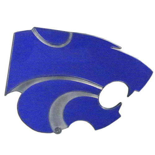 Kansas State Wildcats Logo Trailer Hitch Cover - Special Order