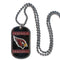 Arizona Cardinals Necklace Tag Style - Special Order