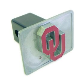 Oklahoma Sooners Trailer Hitch Cover - Special Order