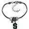 Michigan State Spartans Bracelet Euro Bead Style
