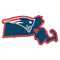 New England Patriots Decal Home State Pride Style