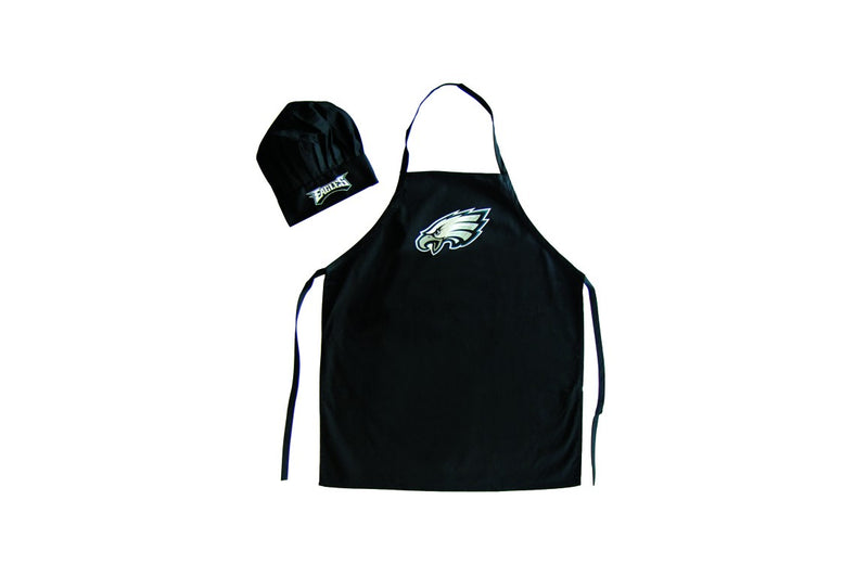 Philadelphia Eagles Apron and Chef Hat Set