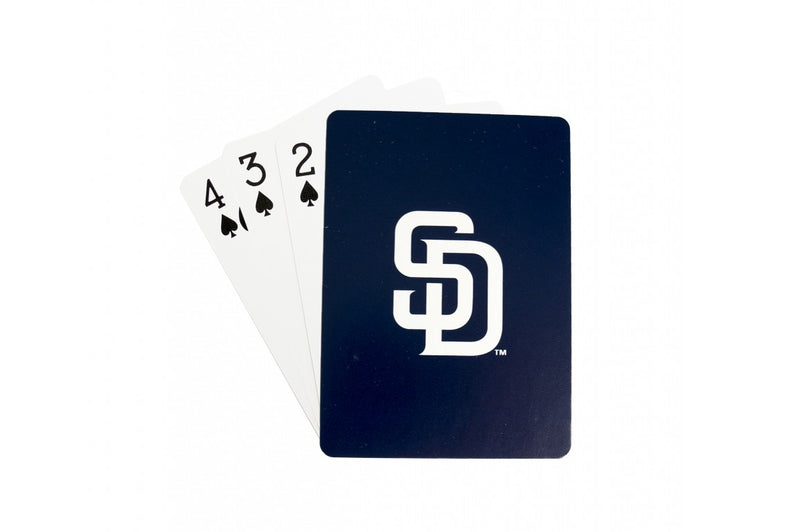 San Diego Padres Playing Cards Logo