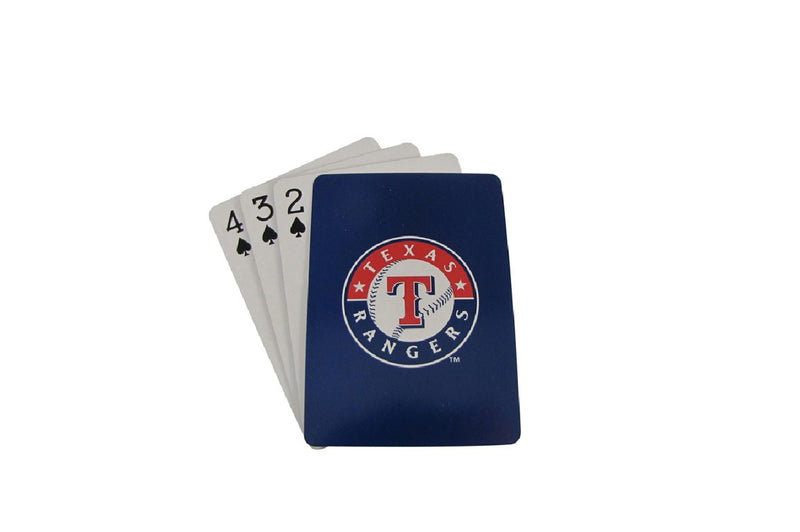 Texas Rangers Playing Cards Diamond Plate