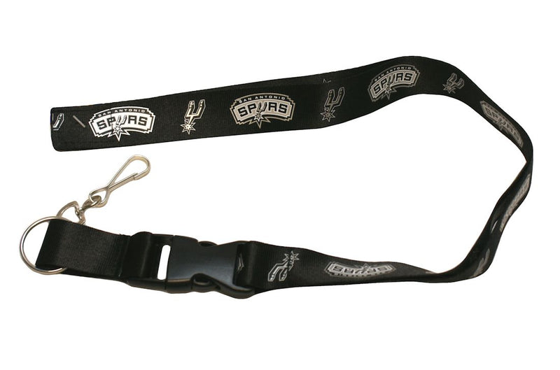 San Antonio Spurs Lanyard - Breakaway with Key Ring