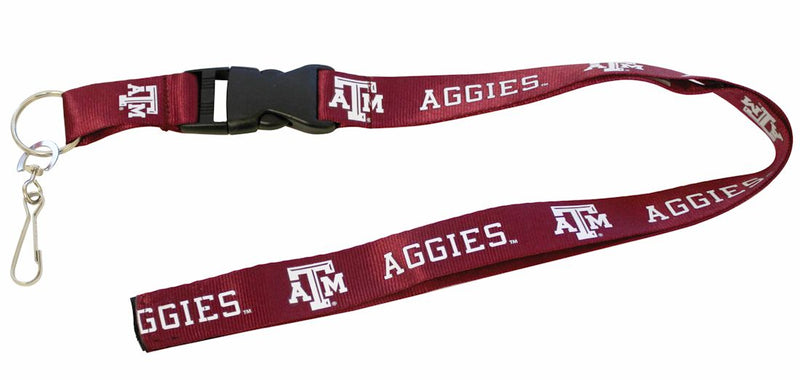 Texas A&M Aggies Lanyard - Breakaway with Key Ring - Special Order