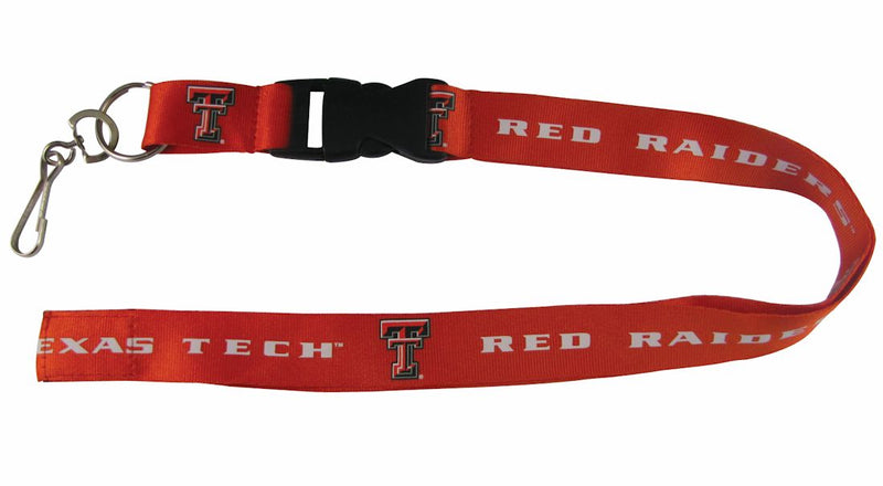 Texas Tech Red Raiders Lanyard - Breakaway with Key Ring