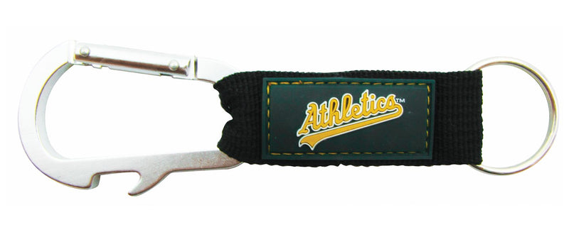 Oakland Athletics Carabiner Keychain