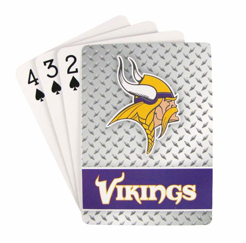 Minnesota Vikings Playing Cards - Diamond Plate