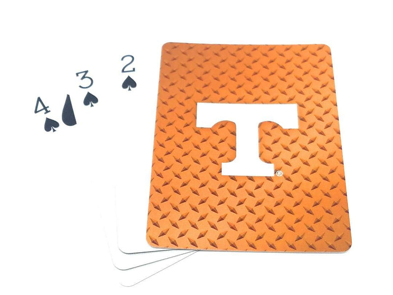 Tennessee Volunteers Playing Cards Diamond Plate - Special Order