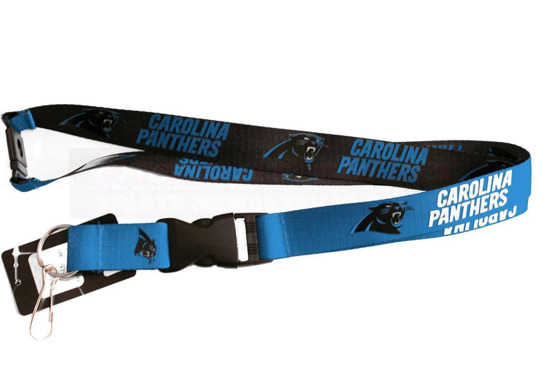 Carolina Panthers Lanyard Reversible