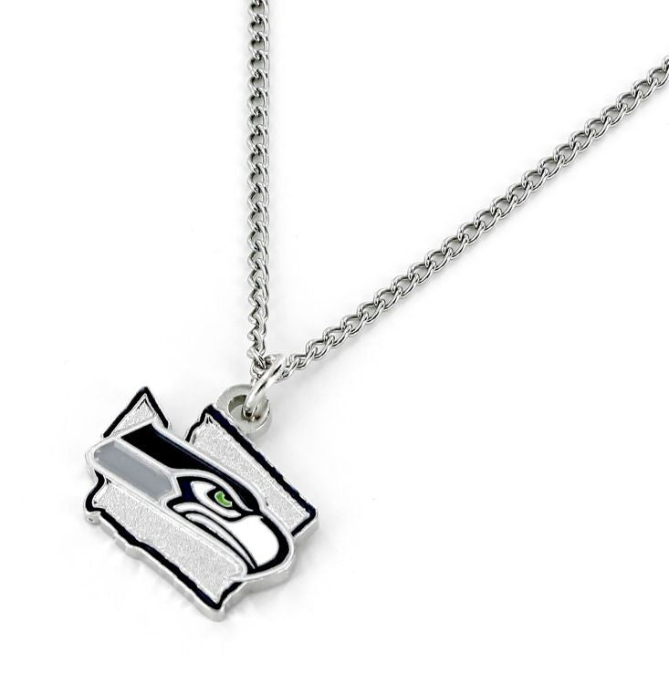 Seattle Seahawks Necklace State Design