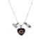 Chicago Bears Necklace Charmed Sport Love Football