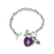 Minnesota Vikings Bracelet Charmed Sport Love Football