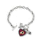 Washington Redskins Bracelet Charmed Sport Love Football