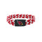 Arizona Cardinals Bracelet Braided Red and White