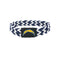 Los Angeles Chargers Bracelet Braided Navy and White