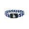 Los Angeles Dodgers Bracelet Braided Blue and White