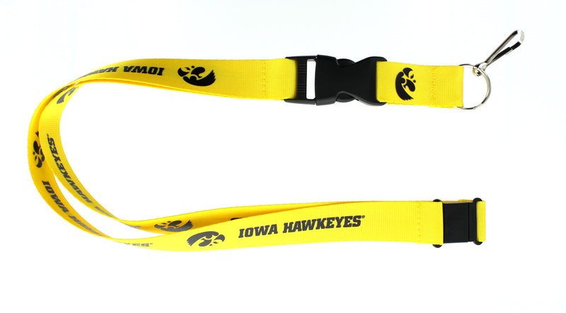Iowa Hawkeyes Lanyard Gold