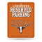 Texas Longhorns Sign Metal Parking 2019