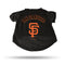 San Francisco Giants Pet Tee Shirt Size S