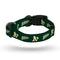 Oakland Athletics Pet Collar Size S