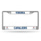 Virginia Cavaliers License Plate Frame Chrome