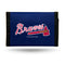 Atlanta Braves Wallet Nylon Trifold