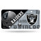 Oakland Raiders License Plate Metal