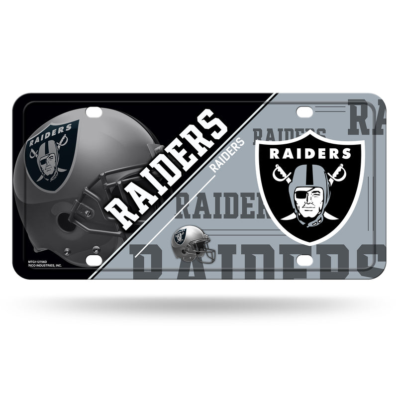 Las Vegas Raiders License Plate Metal
