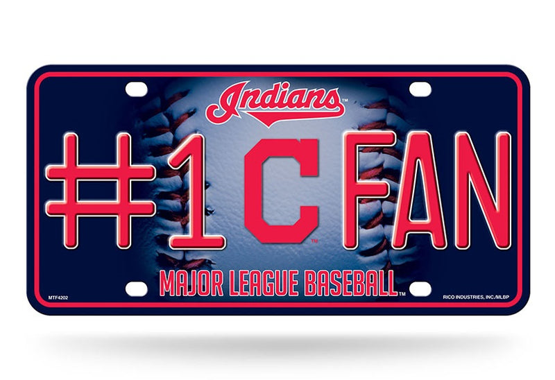 Cleveland Indians License Plate