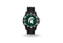 Michigan State Spartans Watch Men's Model 3 Style with Black Band
