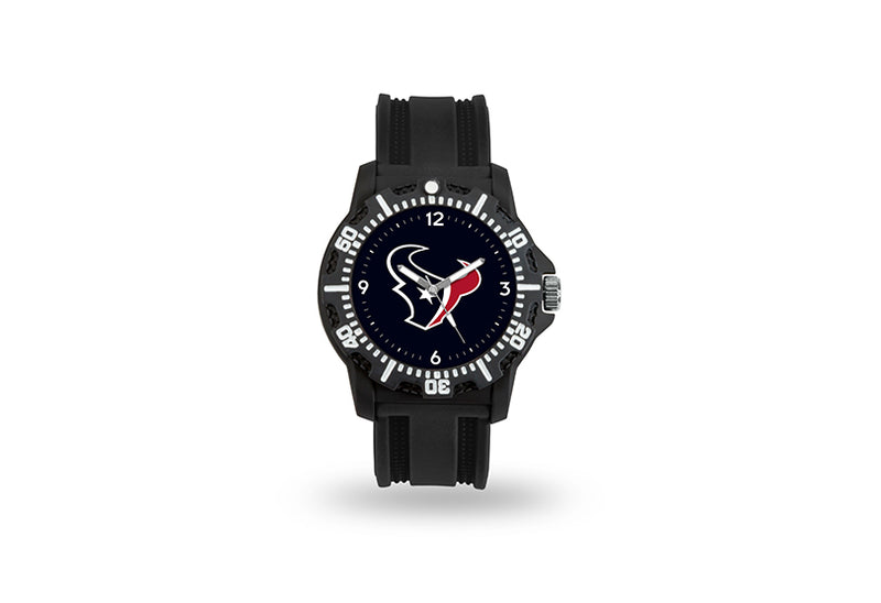Houston Texans Watch Men's Model 3 Style with Black Band