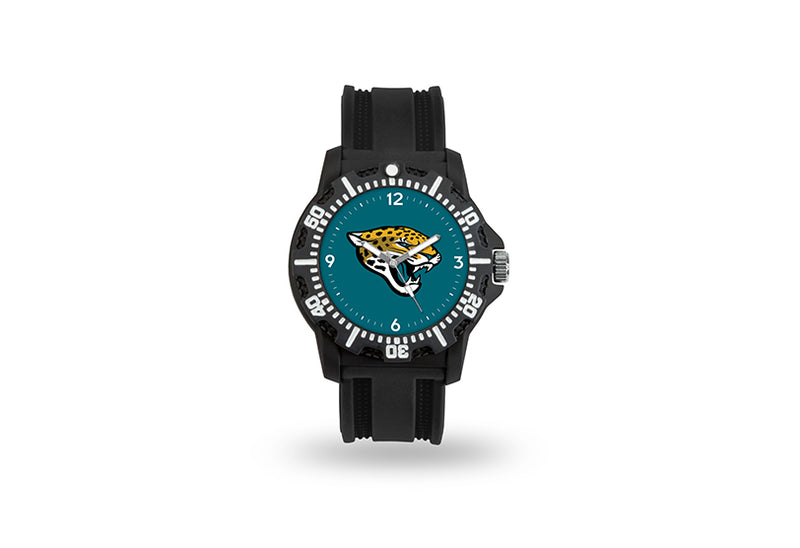 Jacksonville Jaguars Watch Men's Model 3 Style with Black Band