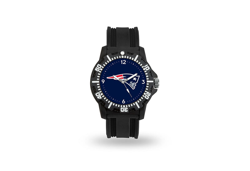 New England Patriots Watch Men's Model 3 Style with Black Band