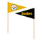 Pittsburgh Steelers Toothpick Flags